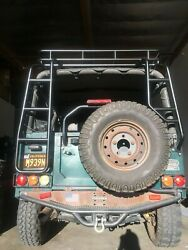 Land Rover N.a.s. Defender 90 Rear Double Ladder