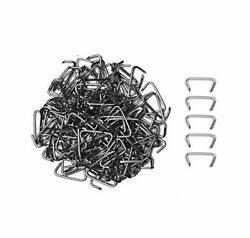 1000 Pieces 3/4 Hog Rings Weather Resistant Galvanized Steel For Furniture