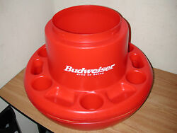 CALIFORNIA COOLTEC BUDWEISER FLOATING POOL COOLER ICE CHEST AND DRINK HOLDER