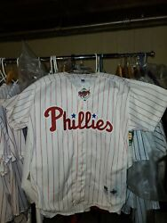 Philadelphia Phillies 1993 World Series Russell Authntic Jersey S 48 New Mlb Tag