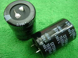 50p Marcon 63v 15000uf Electrolytic Capacitor 35x51 New