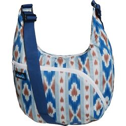 Kavu SINGAPORE SATCHEL Women#x27;s Crossbody Canvas Purse Shoulder Bag RIVER IKAT $34.00