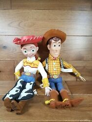 Toy Story Pull String Jessie And Woody Disney/pixar Thinkway Toys Early Editions