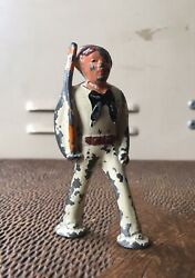 Vintage Barclay Lead Toy Pod Foot Soldier Sailor White B-237