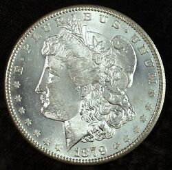 1879 S Morgan Silver Dollar ☆☆ Uncirculated ☆☆ Great For Sets 518