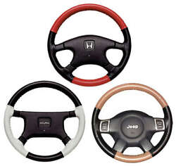 Eurotone 2 Color Leather Steering Wheel Covers For Audi Vehicles - Wheelskins