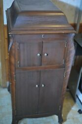 Antique Victrola Talking Machine By Victor -1920and039s