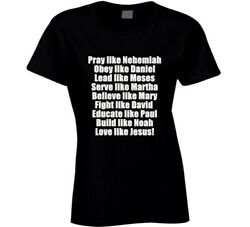 Love Like Jesus! Christian Tshirt Message Evangelism Faith God Christ Savedhope