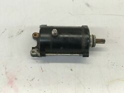 2003 Yamaha Gp800r Starter Motor Assembly 63m-81800-00-00 And Idle Gear Componentandnbsp