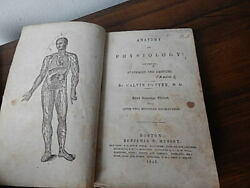 1846 Anatomyandphysiology By Calvin Cutter W 200+ Engravings No Front Cover Intntl