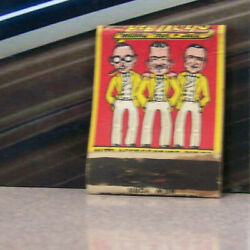 Vintage Matchbook Cover V5 Varsity Guaranteed Products Pep Boys Auto Humorous