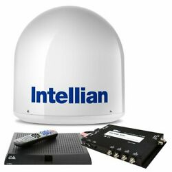 Intellian I2 Us System W/ Dish /bell Mim 15m Rg6 Cable And B4-i2dnsb