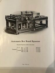Vintage Woodworking Machinery Catalog Mereen-johnson Machine Company Early 1900s