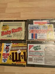 Vintage Misc Disney Candy Wrappers Collection 1986 Junior Mints, Charleston Chew