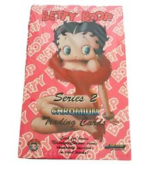 Vintage 1995 Betty Boop Series 2 Chromium Trading Cards Factory Sealed