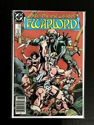 Warlord 118 1976 Series Dc Comics 1987 Vf/nm Newsstand Edition