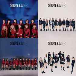 Us Shipping Monthly Girl Loona-[/hash] 2nd Mini Album Cd+booklet+card