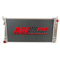 3 Row Aluminum Radiator For 99-03 Ford Expedition F-150 F-250 4.2l 4.6l/5.4l Pro