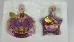2013 Danbury Mint Ruby's Christmas Star And Crown Ruby Red Hat Society Ornaments