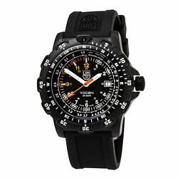 Luminox Menand039s Watch Recon Point Rotating Bezel Black Dial Rubber Strap 8822.mi