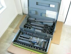 """Swench 750 1000 Manual Impact Ratchet Wrench 3/4"""" + 1"""" Drive Socket Set Complete"""