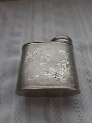Vtg Antique Brass Smoking Pot Only Not Complete No Pipes