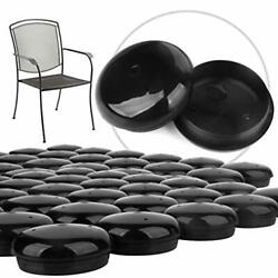 32-pack 1-1.5 Patio Furniture Glide Fee Caps For Wrought Iron Outdoor Furniture