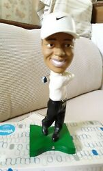 Upper Deck Collectibles Nike Golf Tiger Woods Bobblehead 1 Of 3 Pre Owned