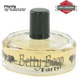 Betty Boop Party Perfume 2.5 Oz Edp Spray Tester For Women By Betty Boop