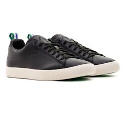 Clyde X Big Sean Black White 366253 02 Mens Leather Sneakers