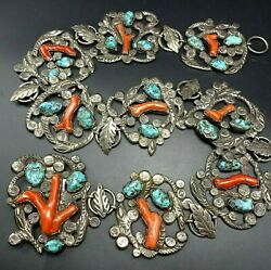 RARE Museum Quality DAN SIMPLICIO BELT Sterling Silver TURQUOISE