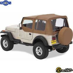 1997-2002 Jeep Wrangler Replace-a-top Fabric-only Soft Top - Spice