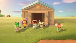 Island Cleaning Animal crossing