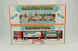Winross Reithoffer's At The York Fair 1992 Tractor Trailer Truck Double Haulers