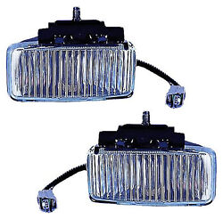 For 1997-2001 Jeep Cherokee Front Fog Lights Lamp Pair Set