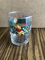 Disney Winnie The Pooh Juice Glasses Hundred Acre Chase Anchor Hocking