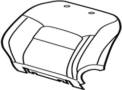 71074-60a00-b1 Toyota Cover, Front Seat Back, Lhfor Separate Type 7107460a00b1