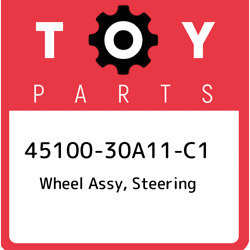 45100-30a11-c1 Toyota Wheel Assy Steering 4510030a11c1 New Genuine Oem Part