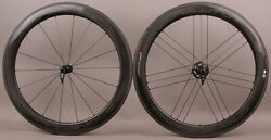 Campagnolo Bora Wto 60 Carbon Clincher 2 Way Fit Road Bike Wheelset Usb Bearings