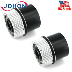 2pcs For Ford Super Duty 99-04 4x4-automatic Front Lockout-auto Locking Hub Lock