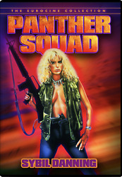 NEW Panther Squad DVD Eurocine Space Soldier Amazonian Sybil Danning Action War