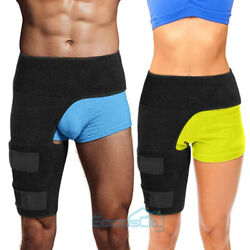Hip Brace Compression Groin Support Wrap For Sciatica Pain Recovery Relief Thigh