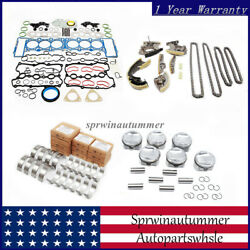 Engine Overhaul Rebuild And Piston And Timing Kit Fit For Vw Touareg Audi A4 A5 3.0t
