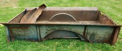 Original Antique 1935 Chevy 9 Ft. Truck Bed - Original Tag Included