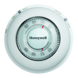 Honeywell Round Heating And Cooling Thermostat