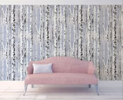 Sky Wallpaper Cloud Removable Tree Peel and Stick Design Samples Available Vinyl