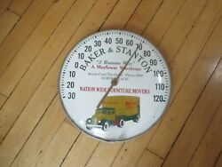 Super Rare Vintage Mayflower Thermometer 1930and039s -1940and039s