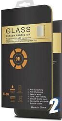 Apple Iphone 11 Pro Screen Protector Tempered Glass 9h 2pk/20pk Wholesale