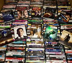 100 Dvd Movies Assorted Wholesale Lot Bulk Used Dvds 100 All Movies 1.5k Msrp