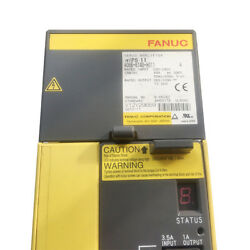 1pc Used Fanuc A06b-6140-h011 Servo Drive Amplifier Tested It In Good Condition